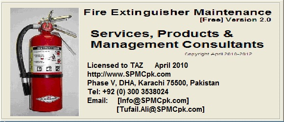 Fire Risk Assessment + Fire Extinguisher Maintenance Software